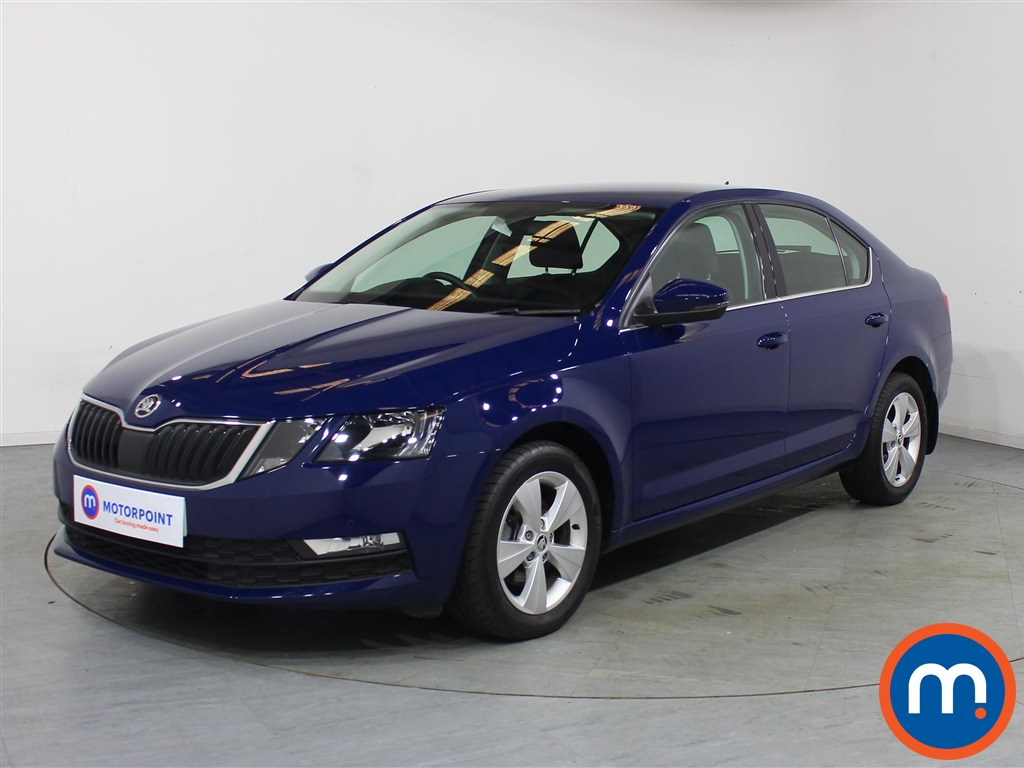 Skoda Octavia SE Technology - Stock Number 1124907 Passenger side front corner
