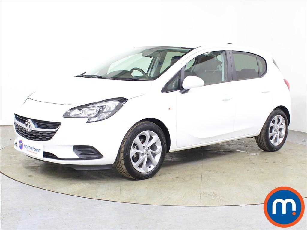 Vauxhall Corsa Sport - Stock Number 1122358 Passenger side front corner