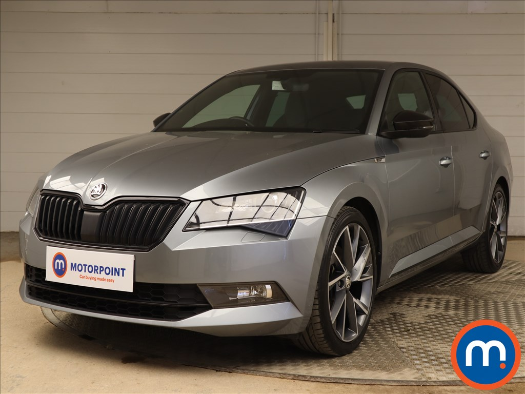 Skoda Superb Sport Line - Stock Number 1130028 Passenger side front corner