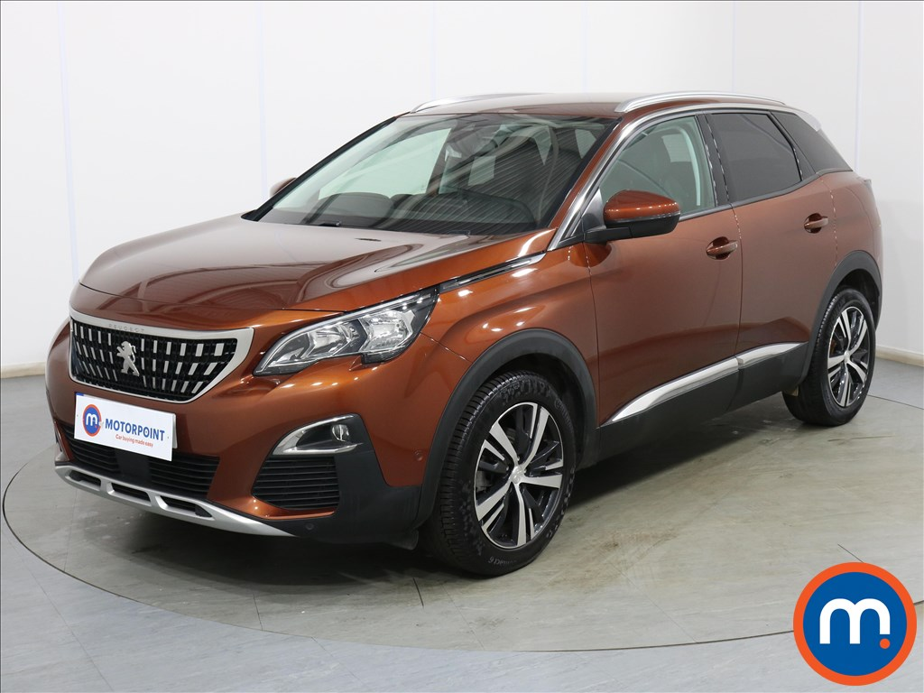 Peugeot 3008 Allure - Stock Number 1120120 Passenger side front corner