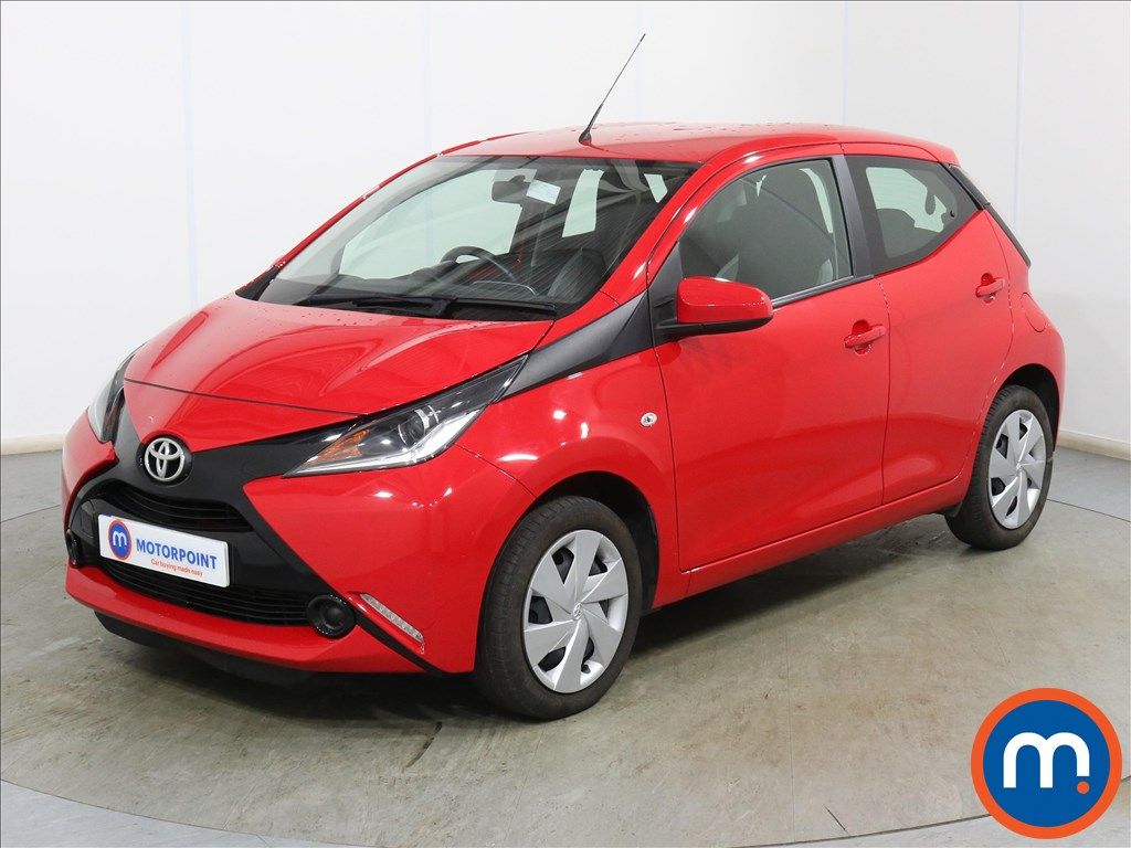 Toyota Aygo X-Play - Stock Number 1128634 Passenger side front corner