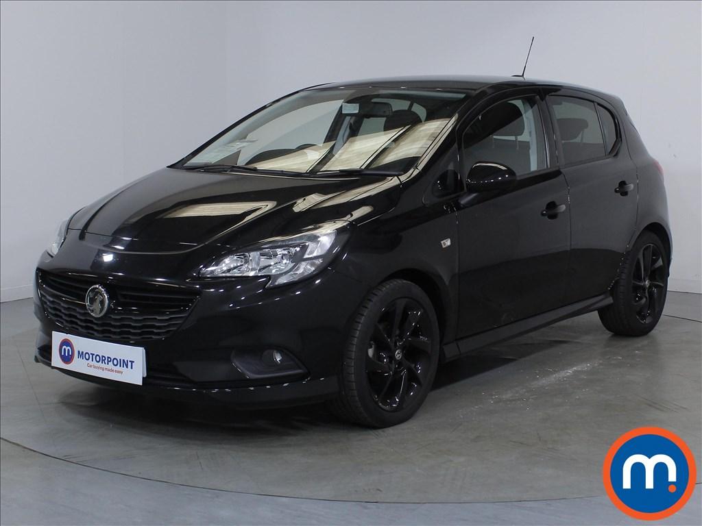 Vauxhall Corsa SRi Vx-line Nav Black - Stock Number 1110472 Passenger side front corner