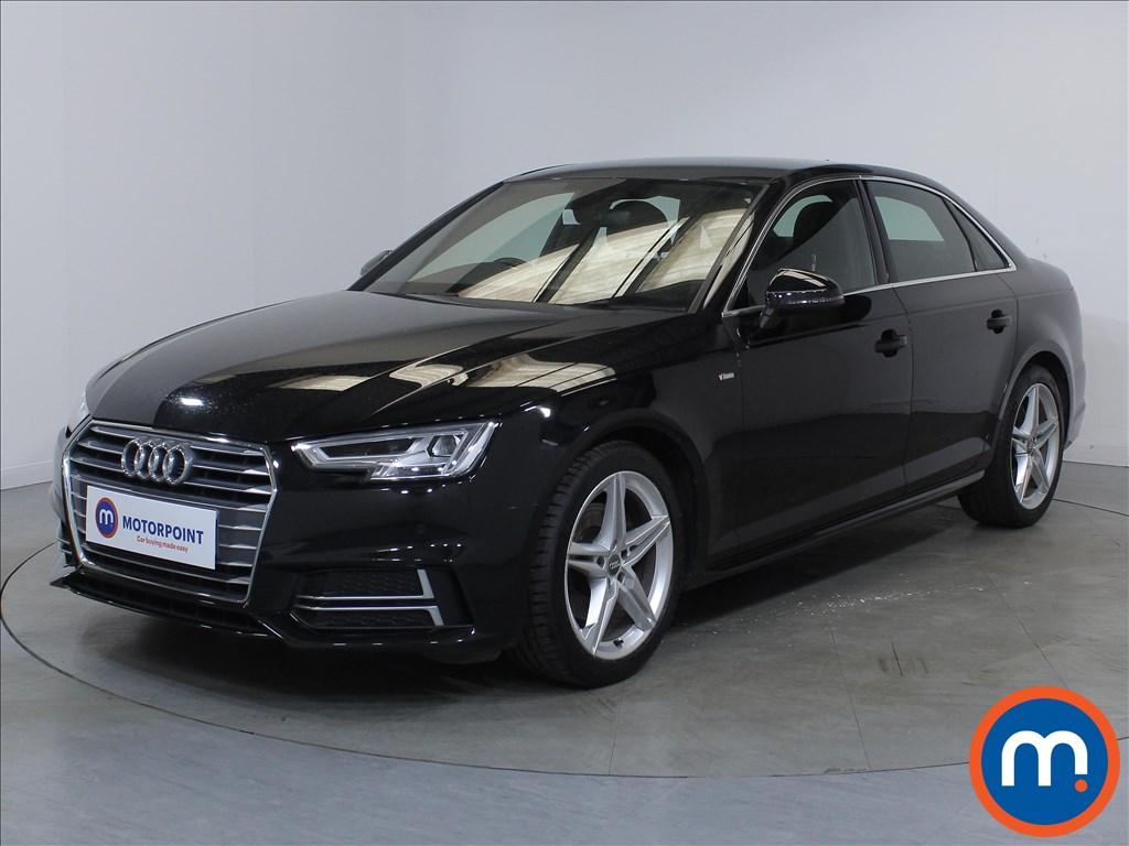Audi A4 S Line - Stock Number 1126484 Passenger side front corner
