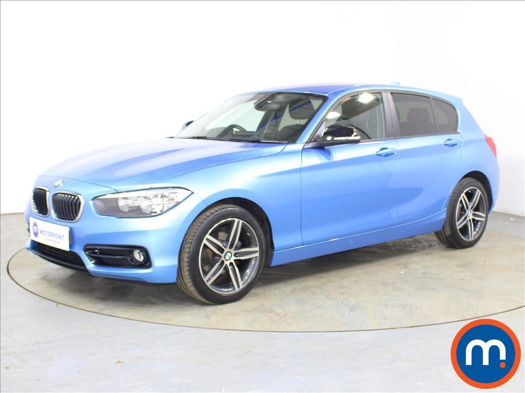 BMW 1 Series Sport - Stock Number 1127220 Passenger side front corner