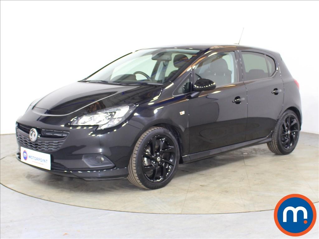 Vauxhall Corsa SRi Vx-line Nav Black - Stock Number 1118516 Passenger side front corner