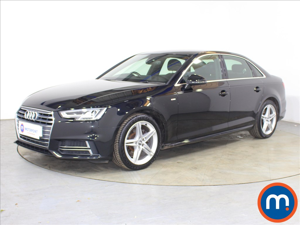 Audi A4 1.4T FSI S Line 4dr [Leather-Alc] - Stock Number 1127344 Passenger side front corner