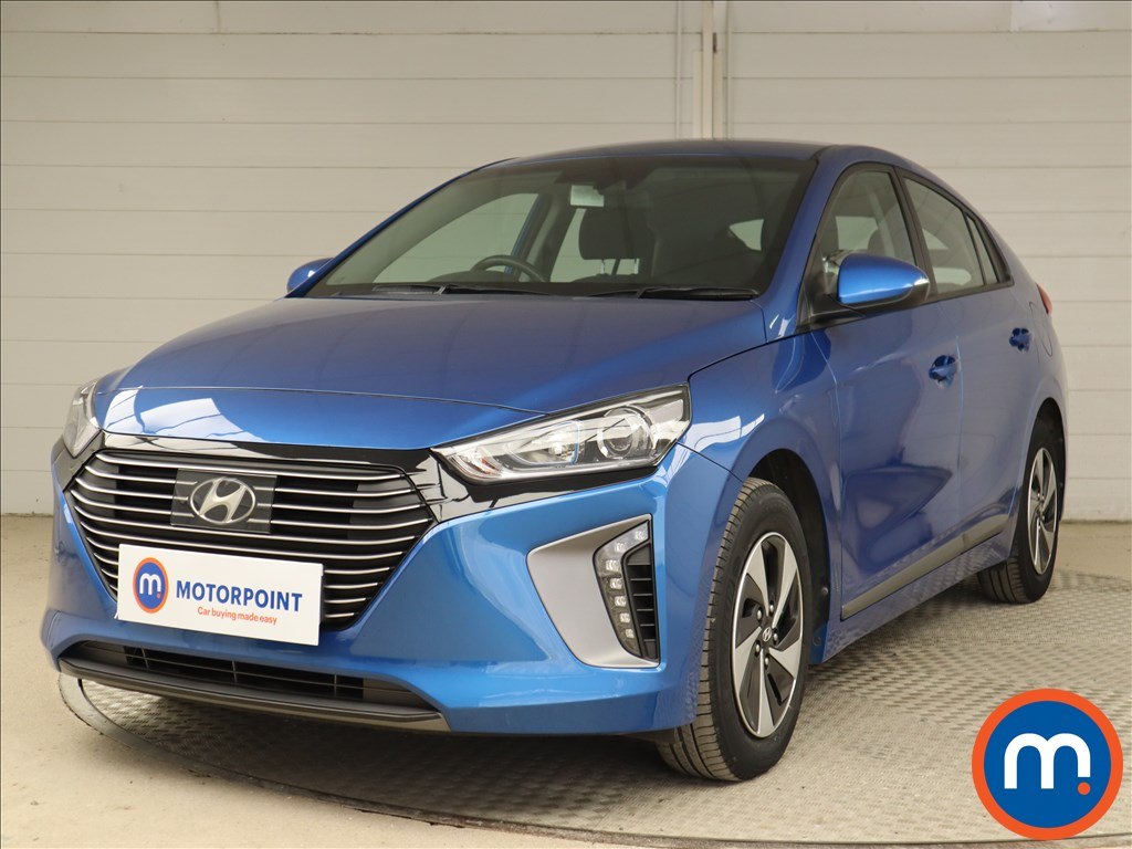 Hyundai Ioniq SE - Stock Number 1127406 Passenger side front corner