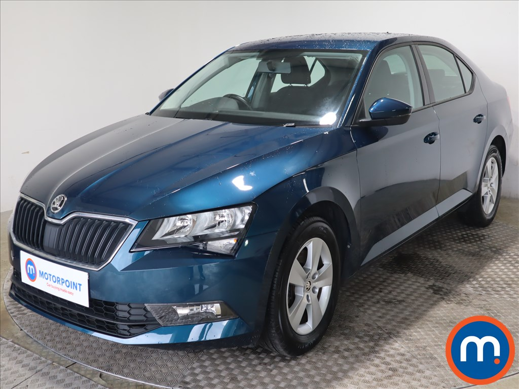 Skoda Superb 1.4 TSI S 5dr - Stock Number 1125877 Passenger side front corner