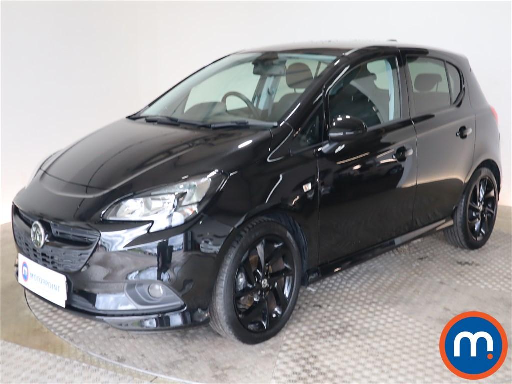 Vauxhall Corsa SRi Vx-line Nav Black - Stock Number 1128186 Passenger side front corner