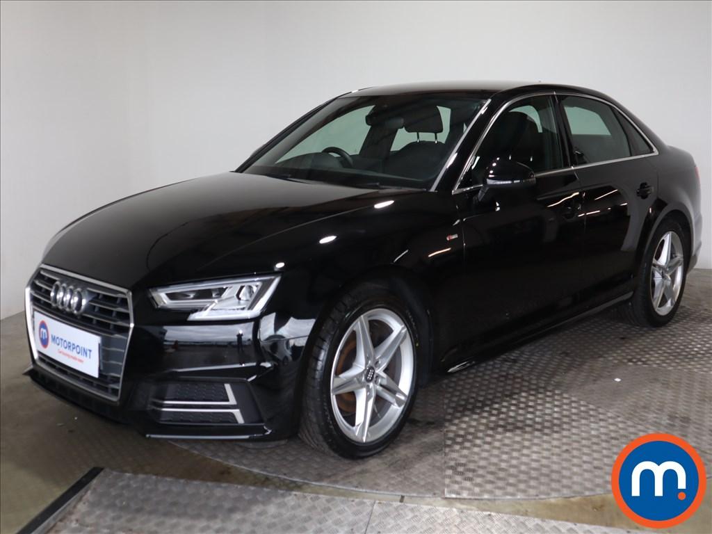 Audi A4 S Line - Stock Number 1125464 Passenger side front corner