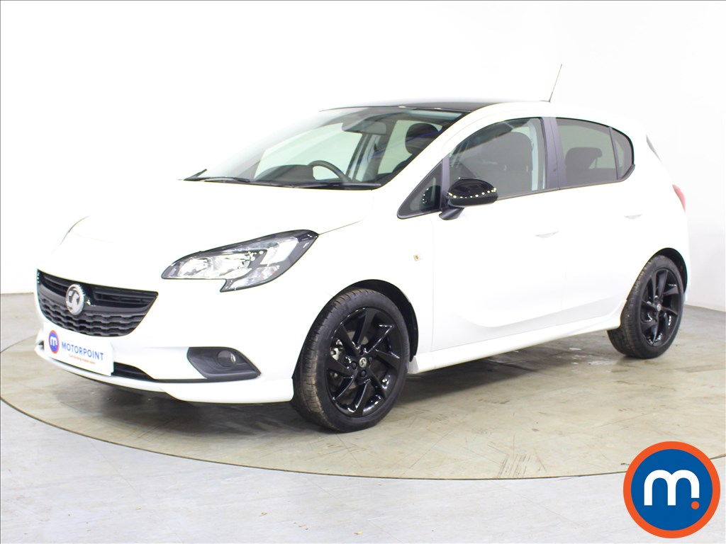 Vauxhall Corsa SRi Vx-line Nav Black - Stock Number 1119855 Passenger side front corner