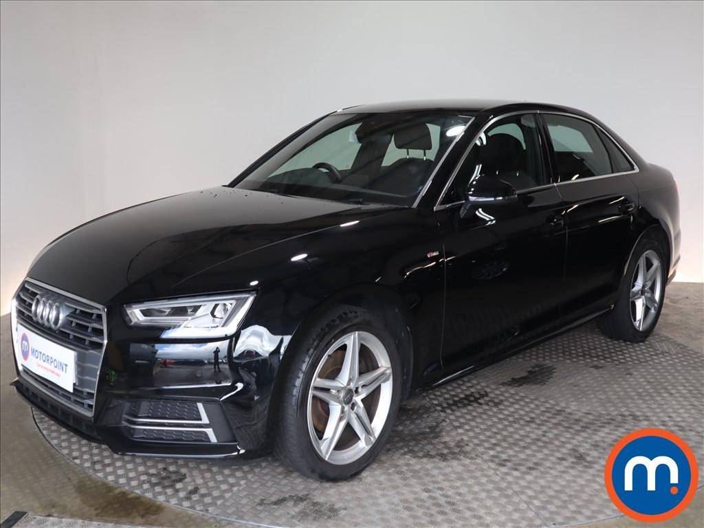 Audi A4 S Line - Stock Number 1126489 Passenger side front corner