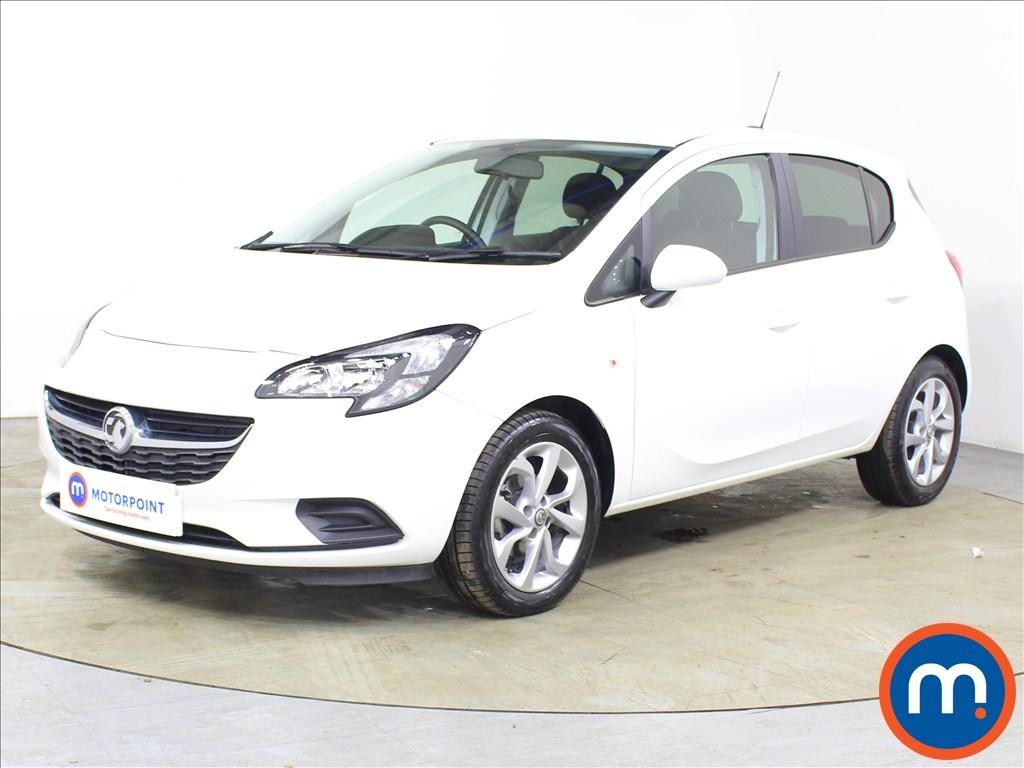 Vauxhall Corsa Sport - Stock Number 1122362 Passenger side front corner