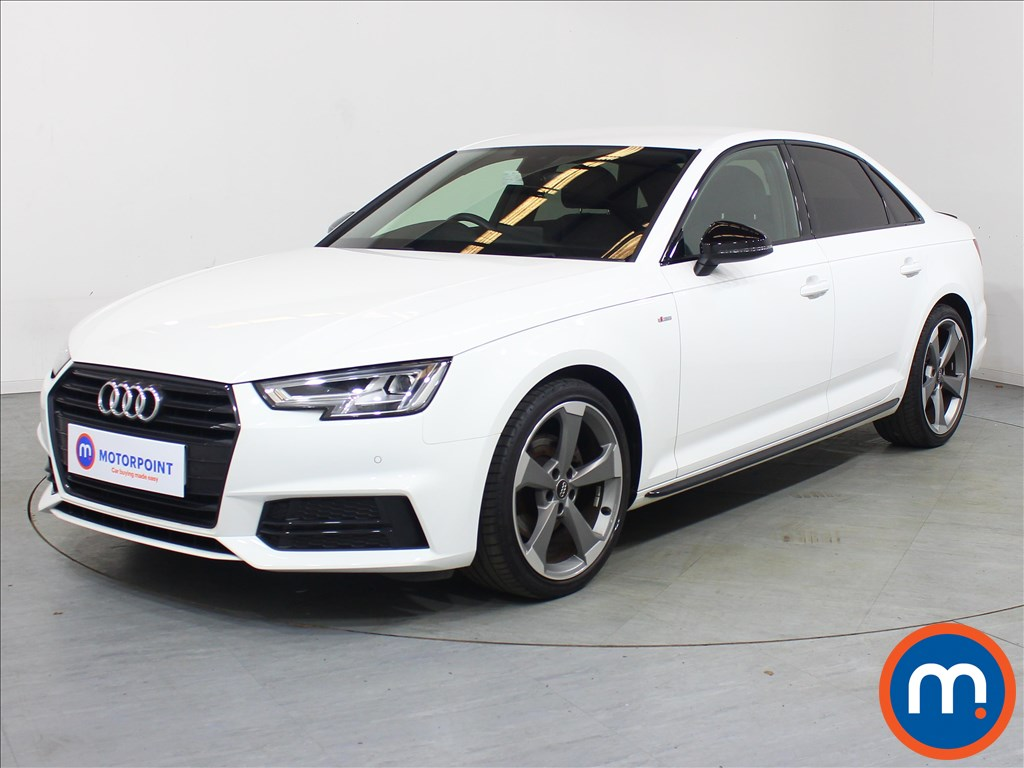 Audi A4 Black Edition - Stock Number 1126527 Passenger side front corner