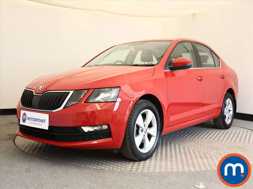 Skoda Octavia SE Technology - Stock Number 1123606 Passenger side front corner