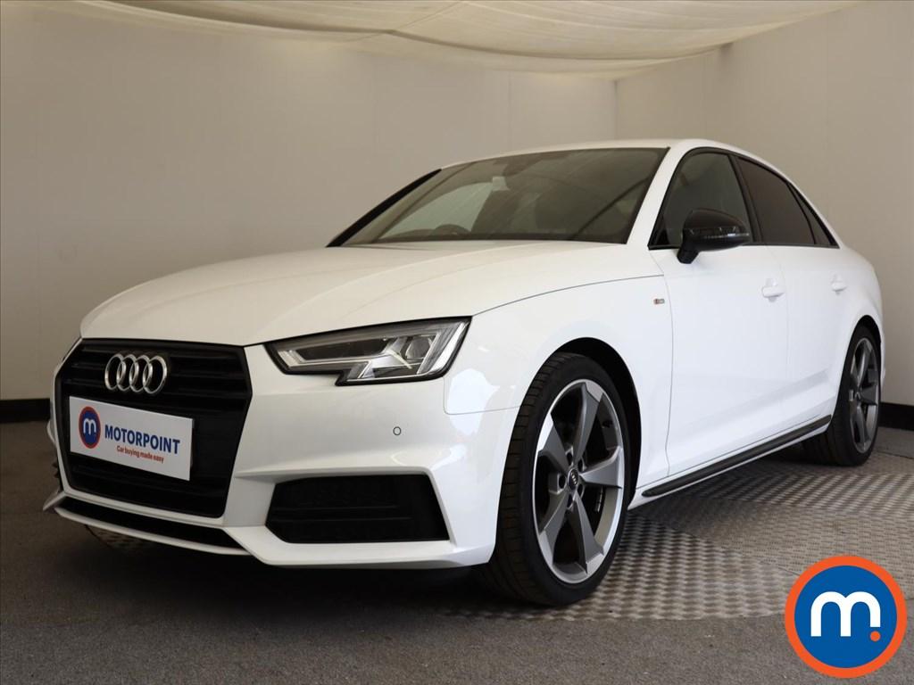 Audi A4 Black Edition - Stock Number 1126500 Passenger side front corner