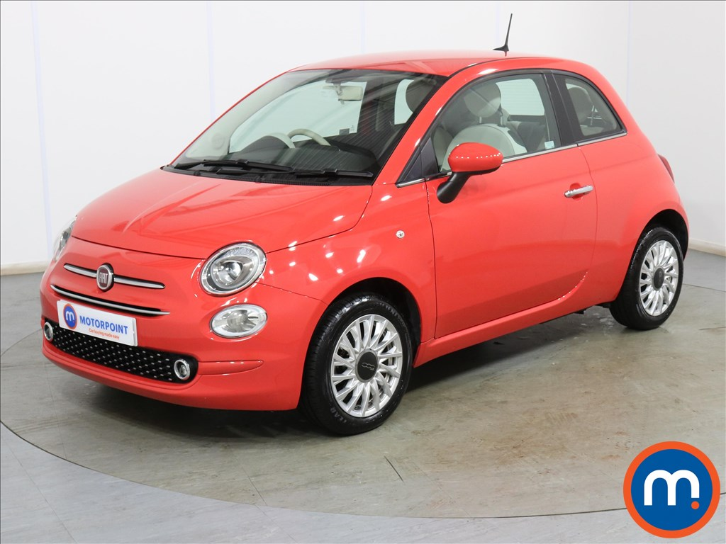 Fiat 500 1.2 Lounge 3dr - Stock Number 1130289 Passenger side front corner