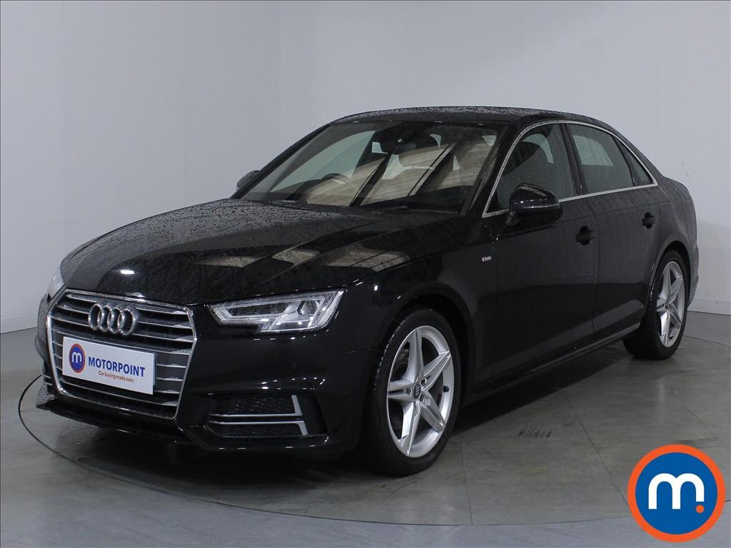 Audi A4 S Line - Stock Number 1126464 Passenger side front corner