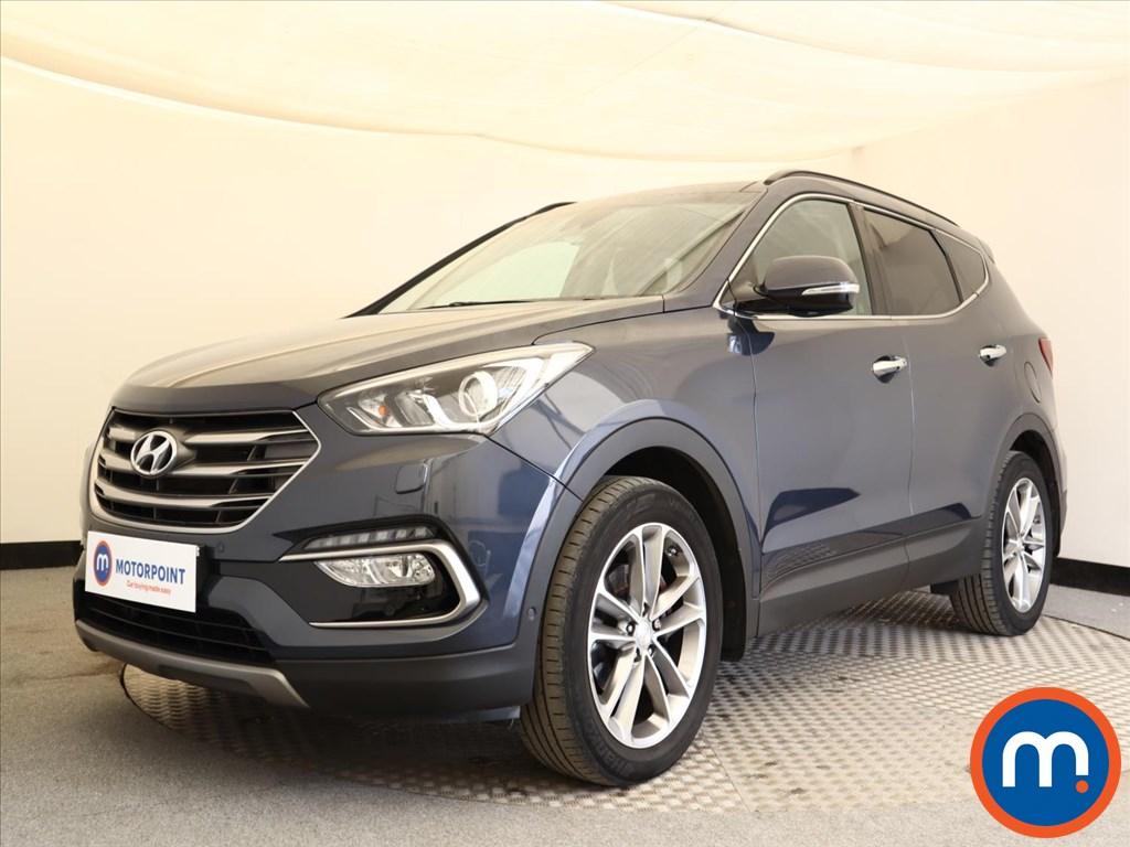 Hyundai Santa Fe Premium SE - Stock Number 1127249 Passenger side front corner