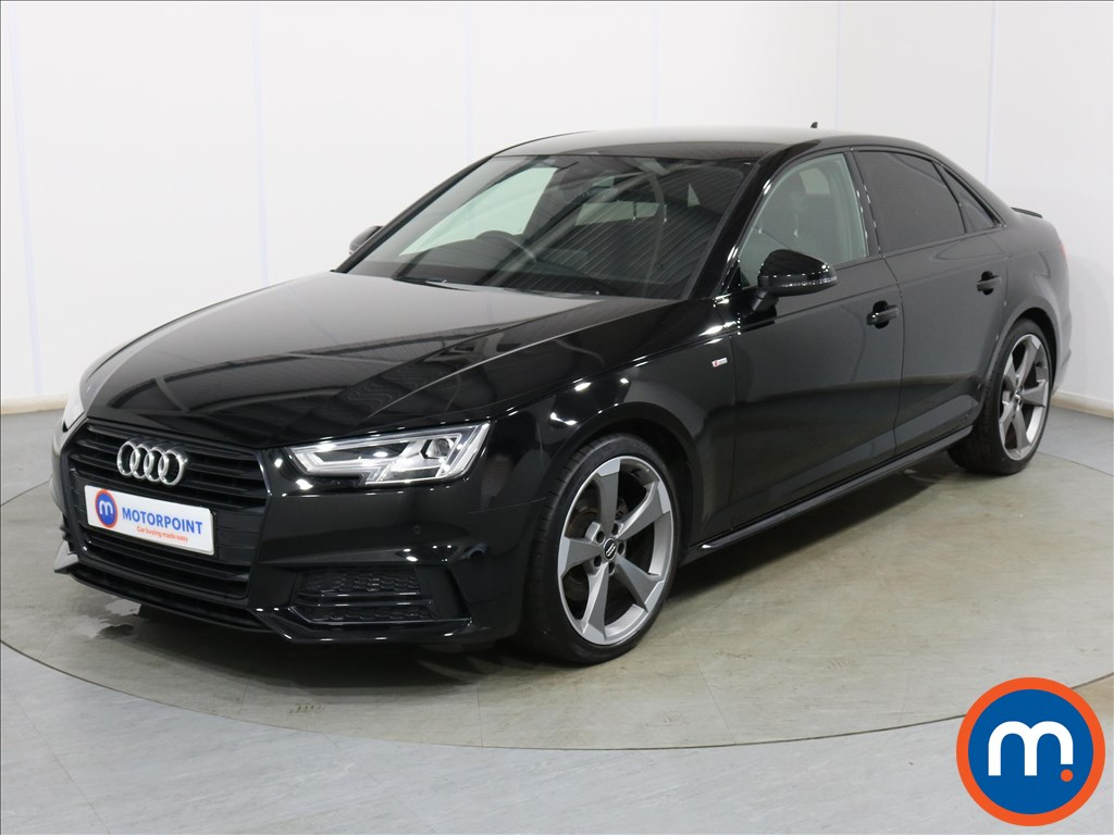 Audi A4 Black Edition - Stock Number 1128563 Passenger side front corner