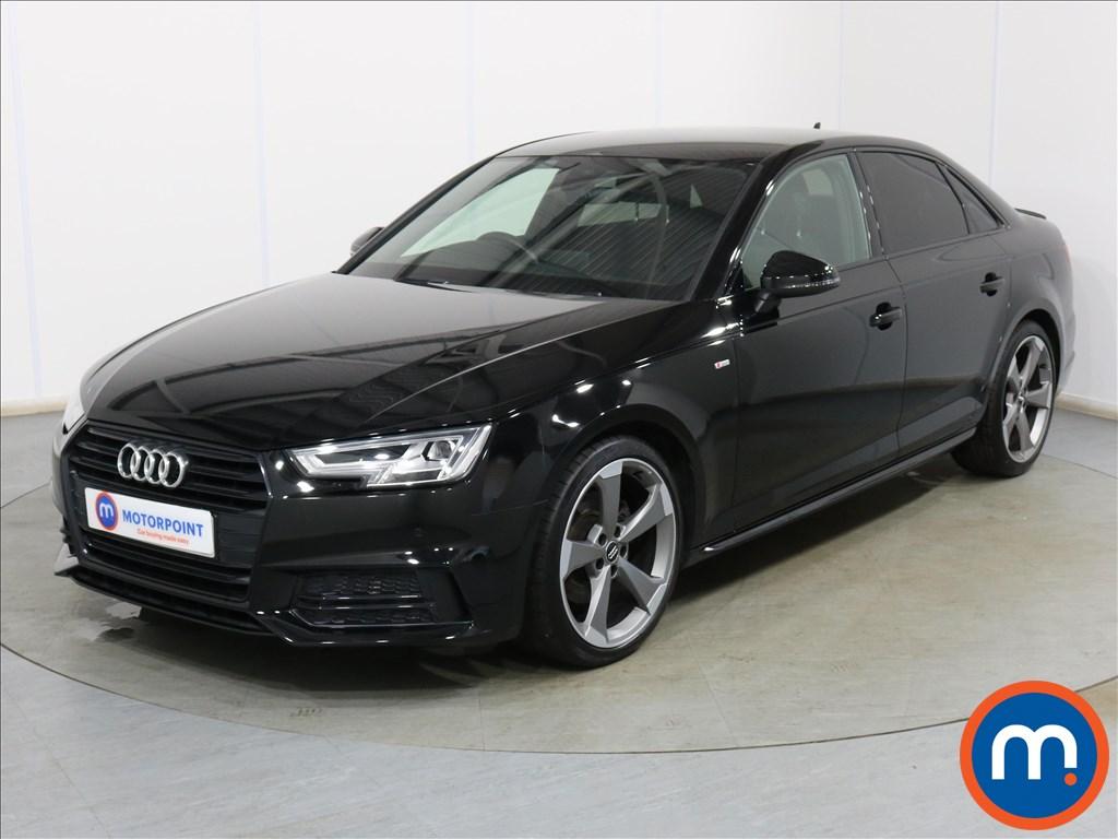 Audi A4 Black Edition - Stock Number 1128563 Passenger side front corner