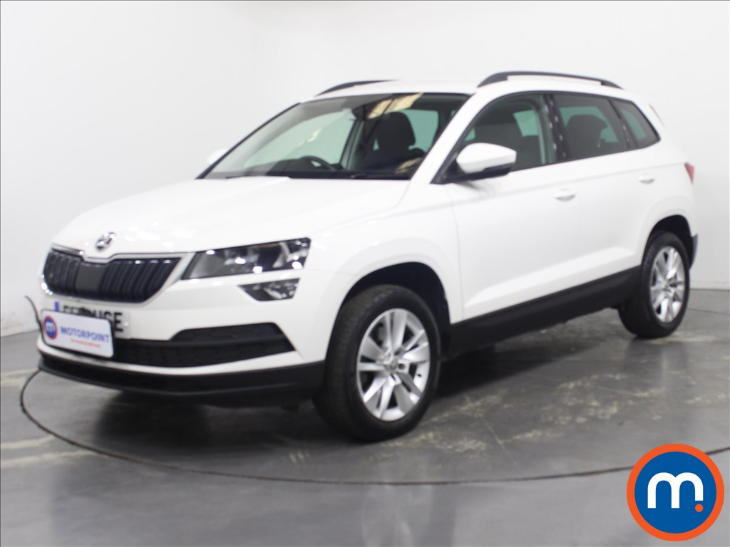 Skoda Karoq SE Technology - Stock Number 1126663 Passenger side front corner