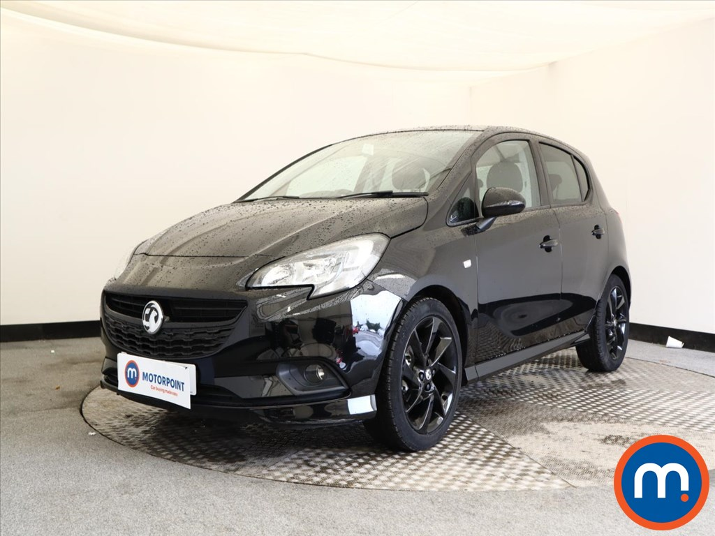 Vauxhall Corsa SRi Vx-line Nav Black - Stock Number 1132545 Passenger side front corner