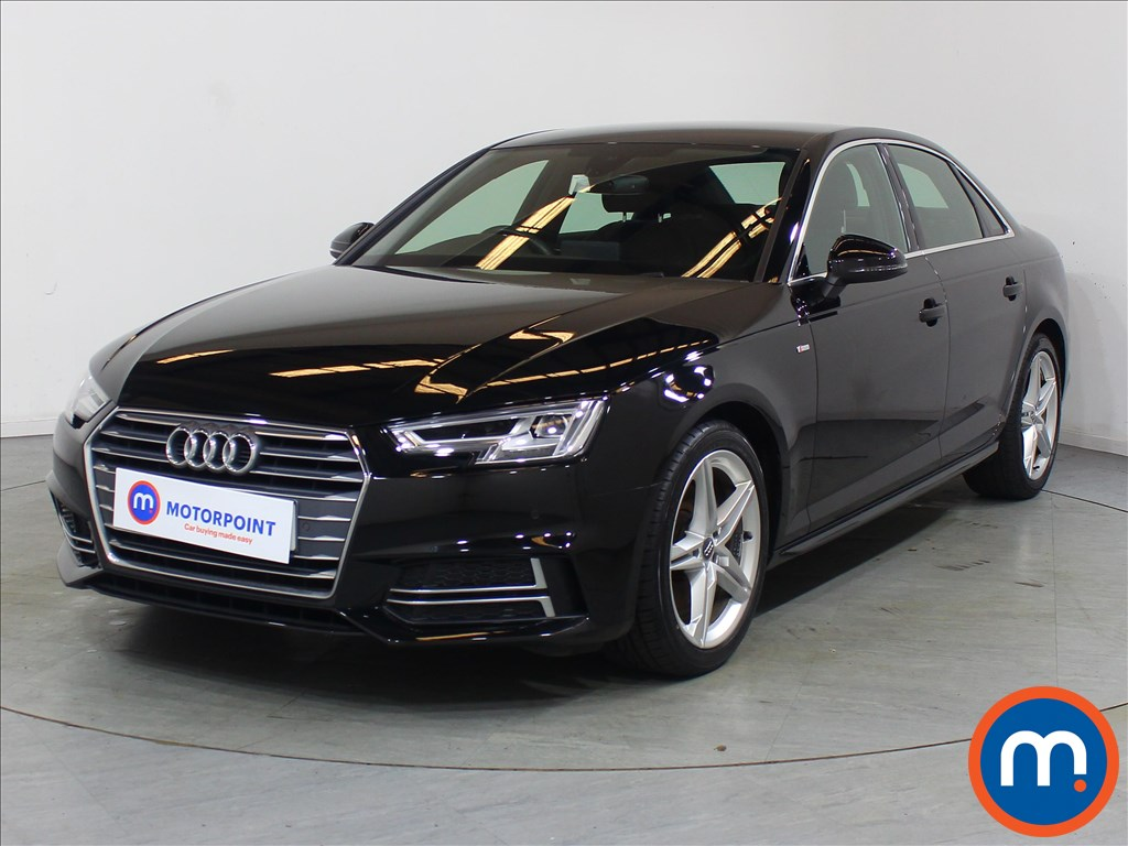 Audi A4 1.4T FSI S Line 4dr [Leather-Alc] - Stock Number 1126471 Passenger side front corner