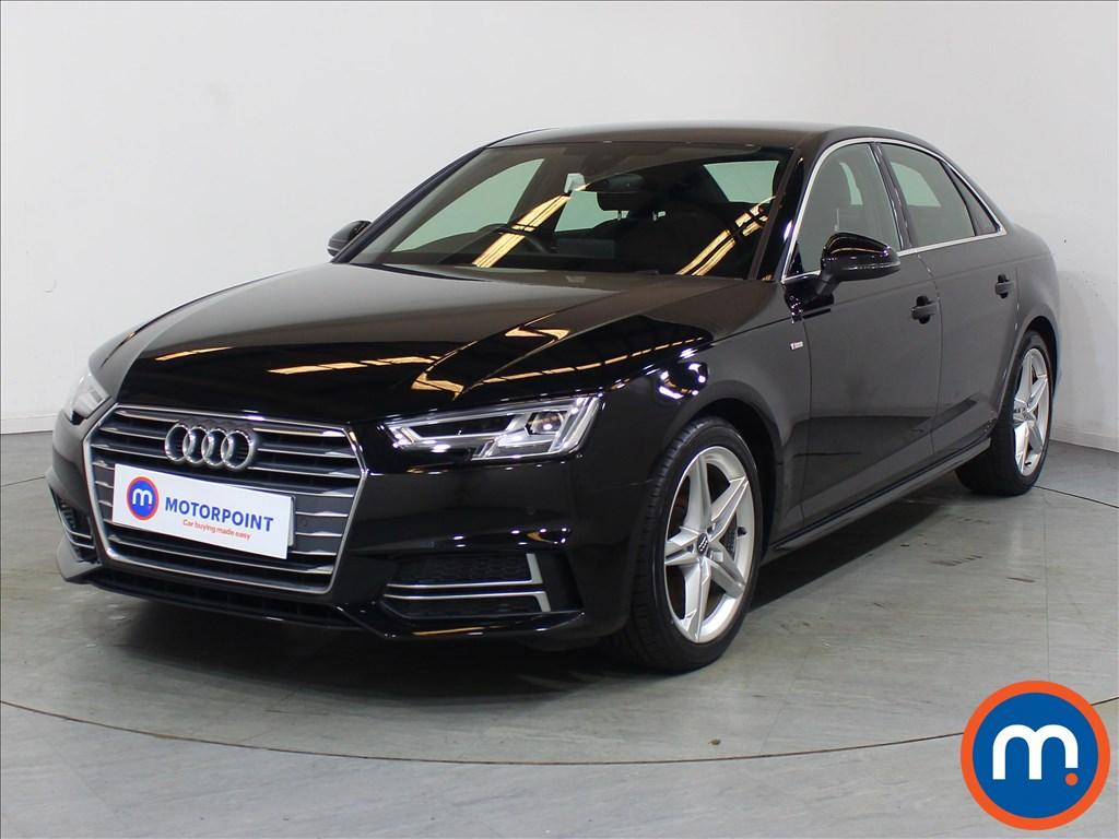 Audi A4 1.4T FSI S Line 4dr [Leather-Alc] - Stock Number 1126471 Passenger side front corner