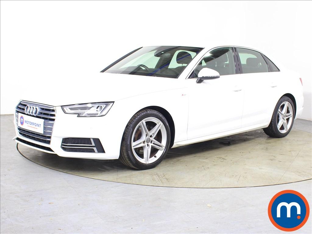 Audi A4 S Line - Stock Number 1127274 Passenger side front corner