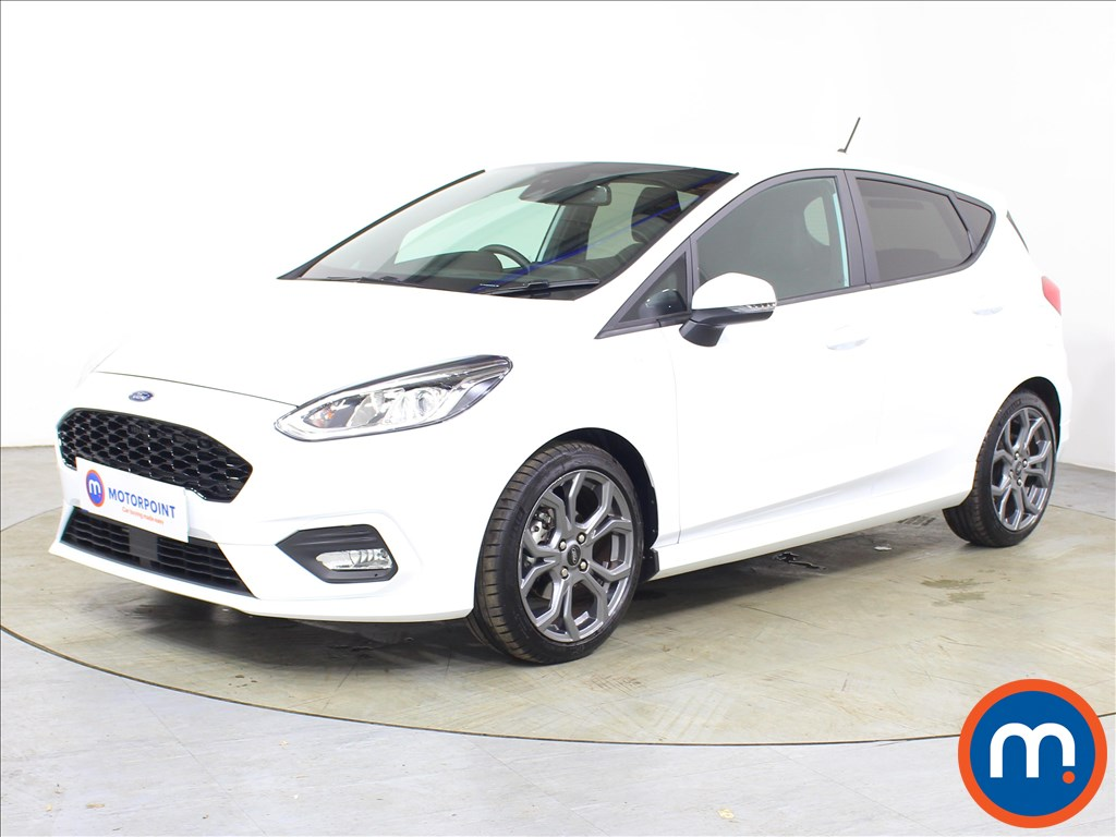 Ford Fiesta ST-Line X - Stock Number 1128273 Passenger side front corner