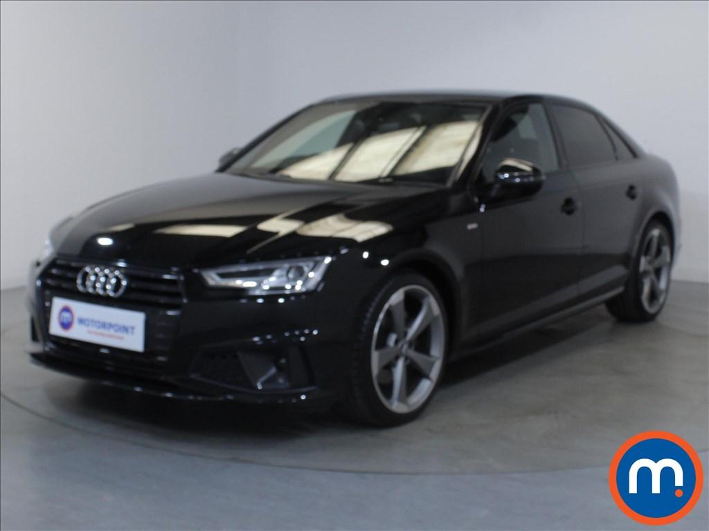 Audi A4 Black Edition - Stock Number 1134763 Passenger side front corner