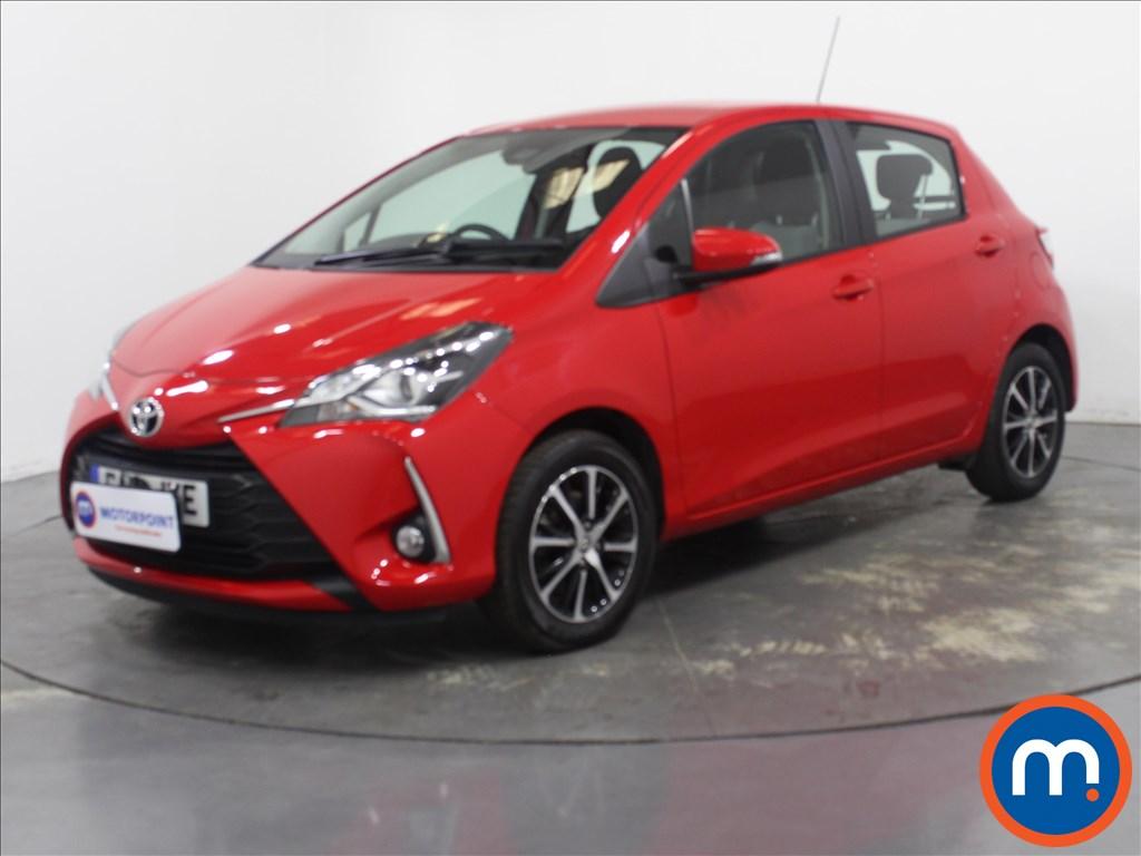 Toyota Yaris 1.5 VVT-i Icon Tech 5dr - Stock Number 1118786 Passenger side front corner