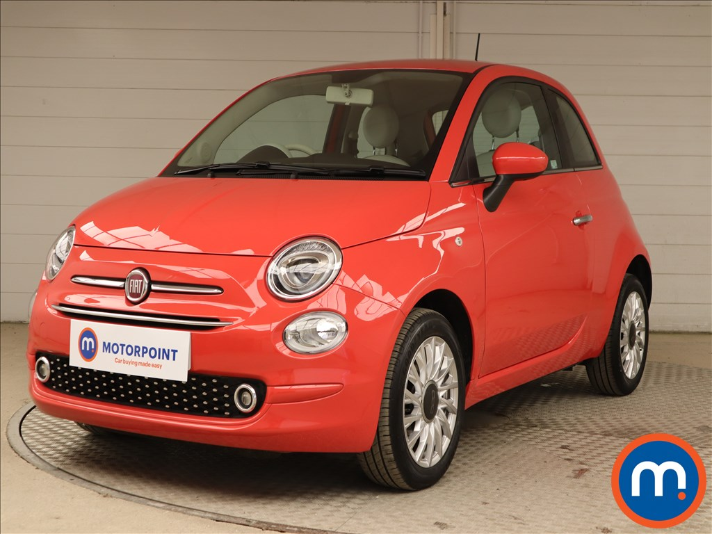 Fiat 500 1.2 Lounge 3dr - Stock Number 1130373 Passenger side front corner