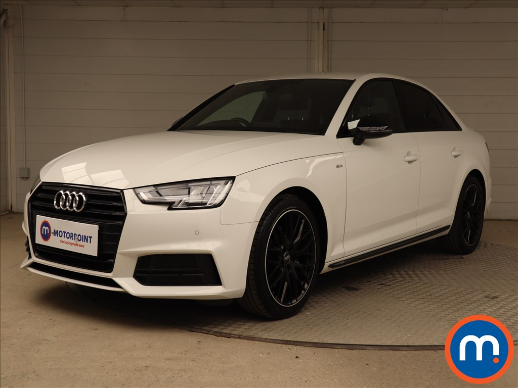 Audi A4 Black Edition - Stock Number 1124935 Passenger side front corner