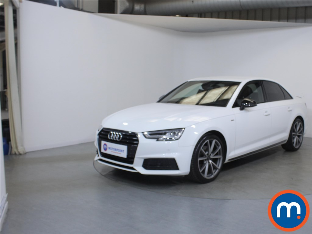 Audi A4 Black Edition - Stock Number 1126523 Passenger side front corner