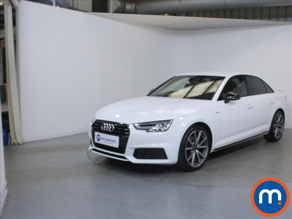 Audi A4 Black Edition - Stock Number 1126523 Passenger side front corner