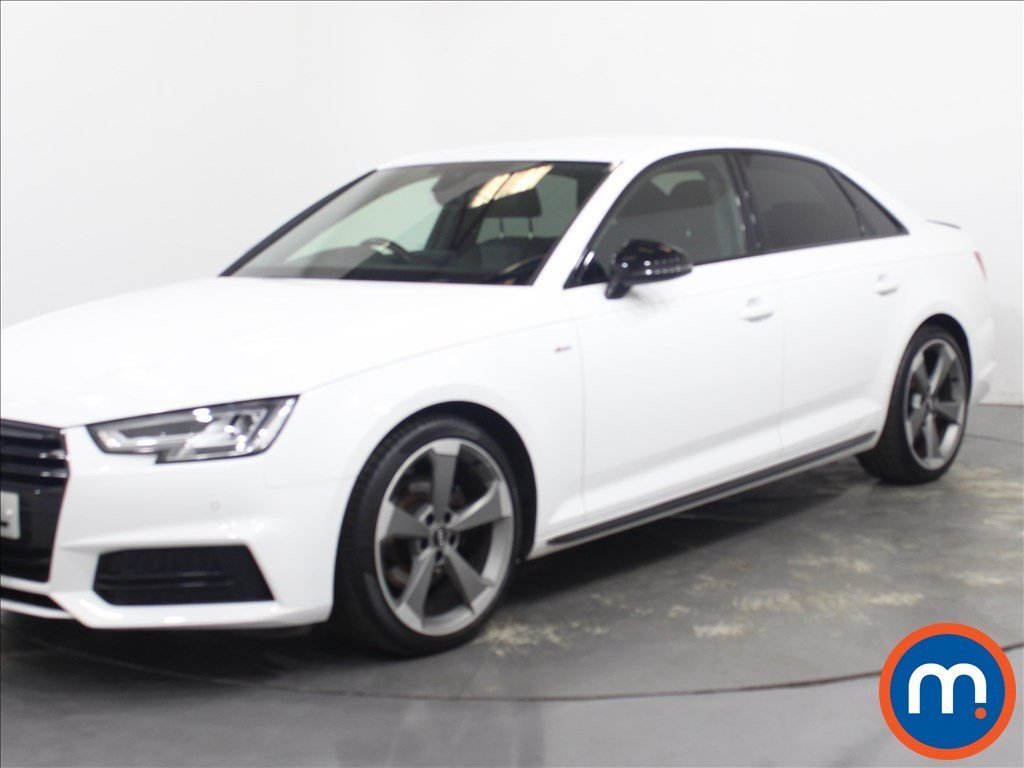 Audi A4 Black Edition - Stock Number 1129727 Passenger side front corner