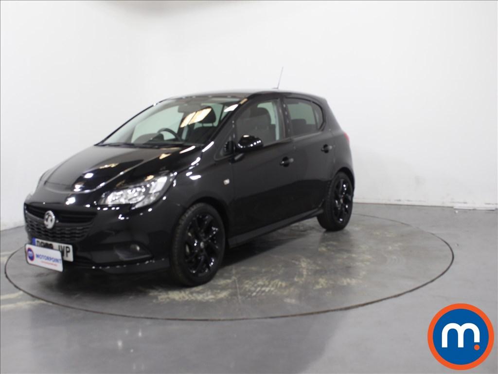 Vauxhall Corsa 1.4 SRi Vx-line Nav Black 5dr - Stock Number 1132231 Passenger side front corner