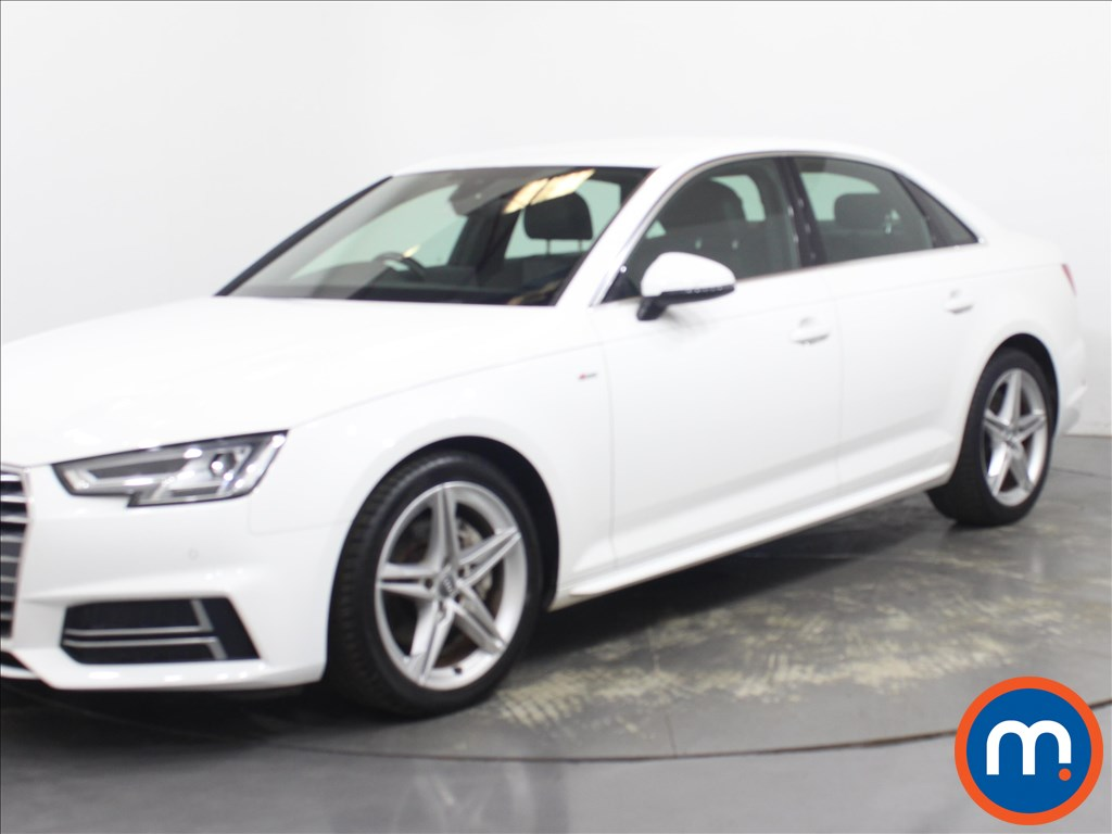 Audi A4 2.0 TDI Ultra 190 S Line 4dr [Leather-Alc] - Stock Number 1130046 Passenger side front corner