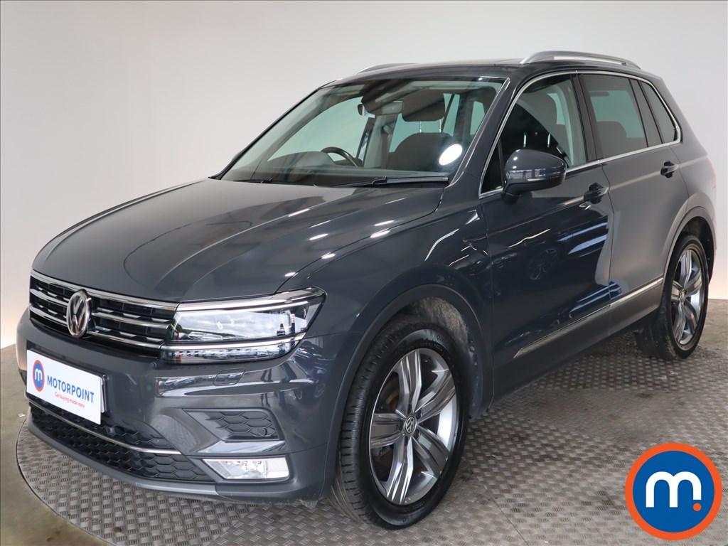 Volkswagen Tiguan SEL - Stock Number 1128137 Passenger side front corner