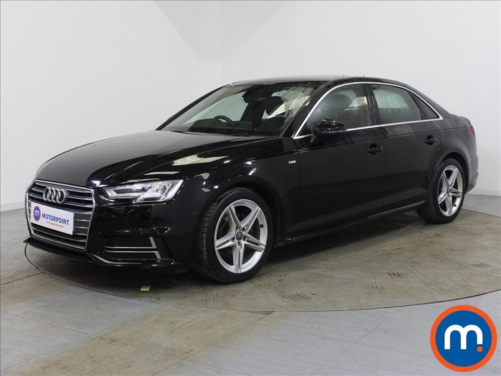 Audi A4 S Line - Stock Number 1129680 Passenger side front corner