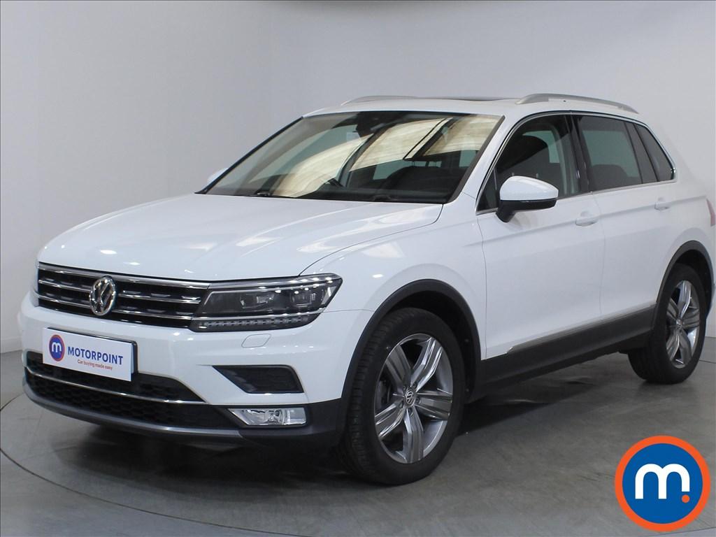 Volkswagen Tiguan SEL - Stock Number 1119080 Passenger side front corner