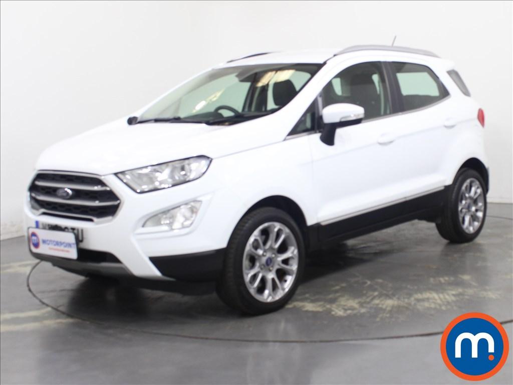 Ford Ecosport Titanium - Stock Number 1125795 Passenger side front corner
