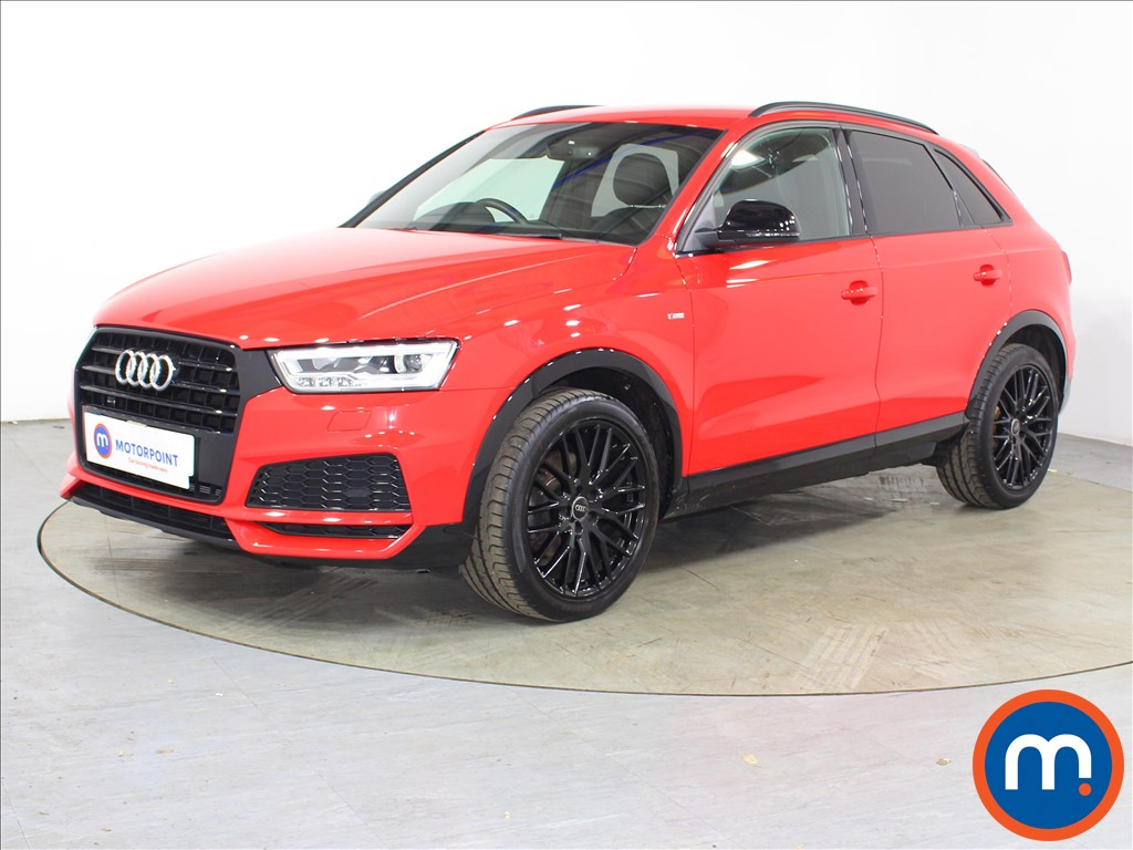 Audi Q3 Black Edition - Stock Number 1132743 Passenger side front corner