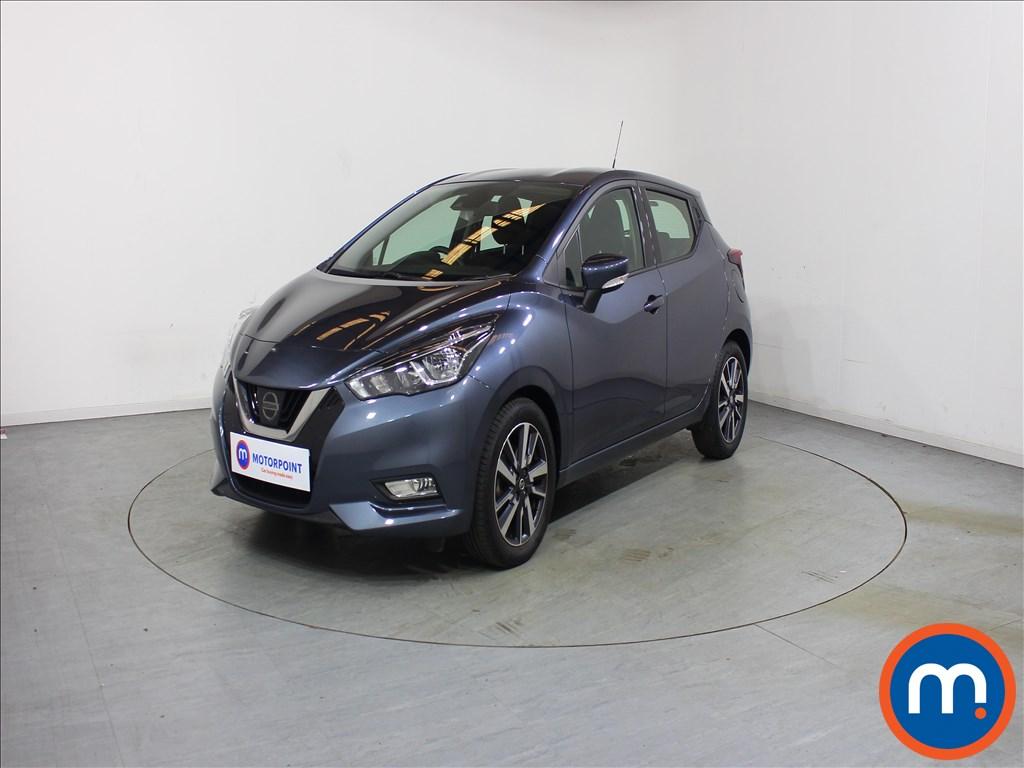 Nissan Micra Acenta - Stock Number 1121133 Passenger side front corner