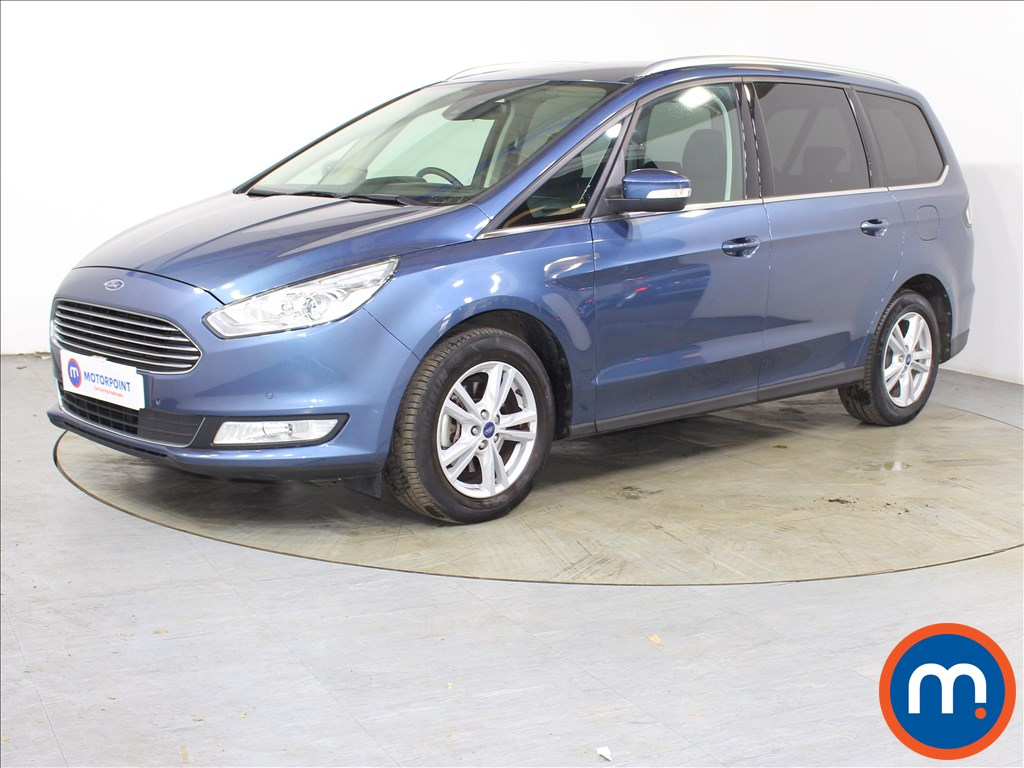 Ford Galaxy Titanium - Stock Number 1127337 Passenger side front corner