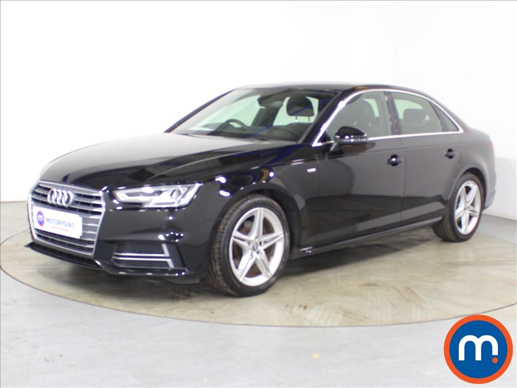 Audi A4 S Line - Stock Number 1126462 Passenger side front corner