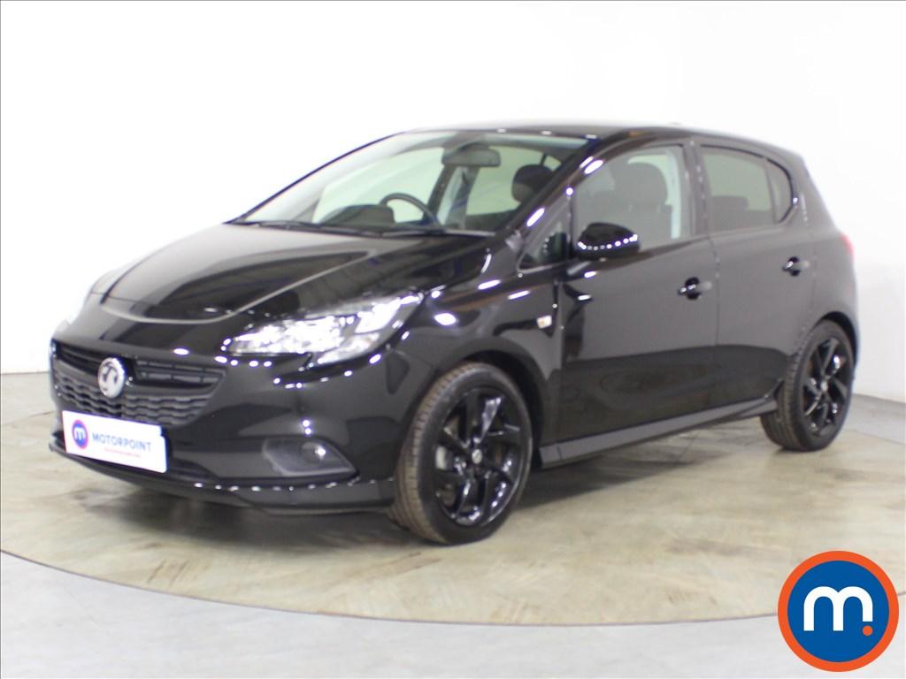 Vauxhall Corsa SRi Vx-line Nav Black - Stock Number 1120885 Passenger side front corner