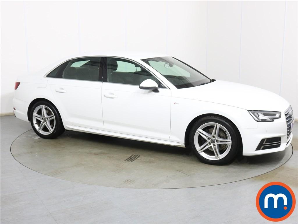 Audi A4 S Line - Stock Number 1131469 Passenger side front corner